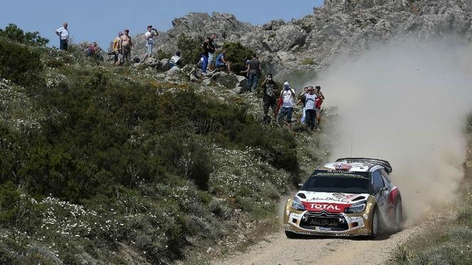 WRC Sardaigne : Sebastien Ogier profite de la faute de Latvala