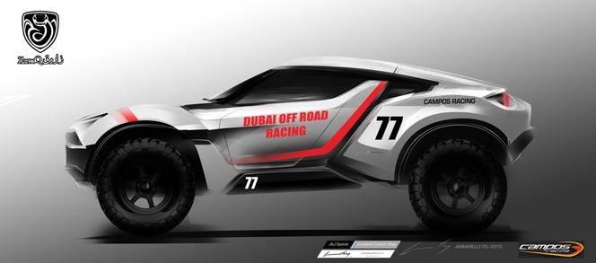 Zarooq Sand Racer : une voiture de rallye-raid homologuée pour la route
