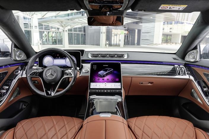 Nouvelle Mercedes Classe S: infos et photos officielles