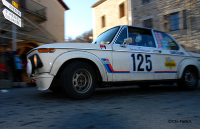 Rallye Monte Carlo Historique: Les allemandes . 1