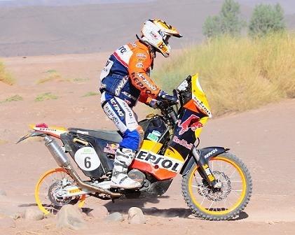 Rallye du Maroc 2009 : étape 5, celle-la est pour Marc Coma