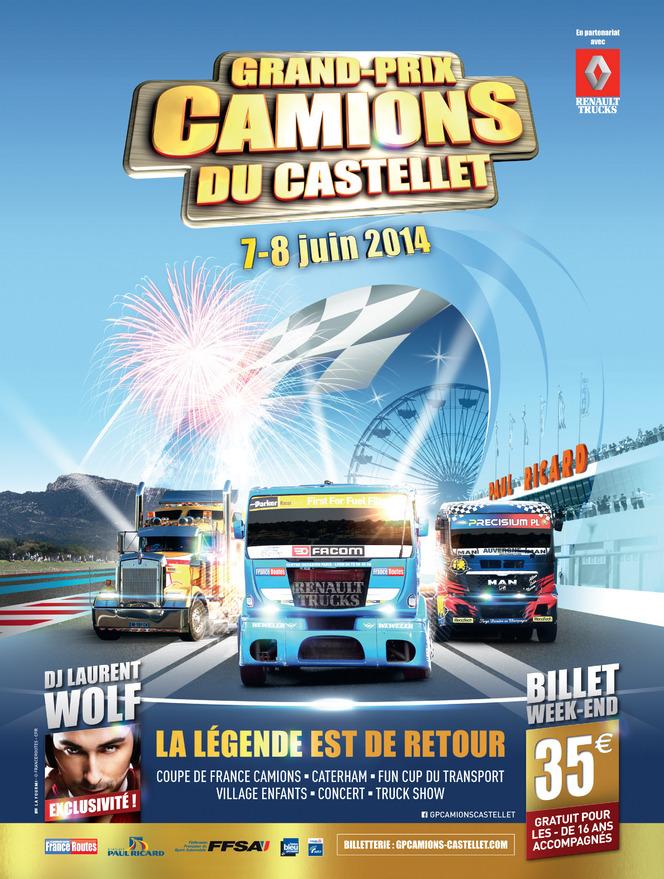 Grand Prix Camions 2014 du Paul Ricard : toutes les photos de Jean-Marie Farina