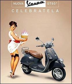 Les 60 ans de Vespa : déjà !