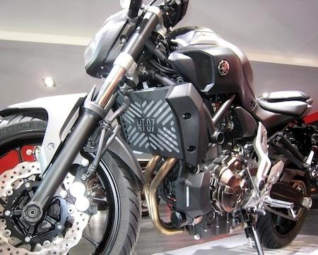 Access Design: une grille de radiateur pour la Yamaha MT-07