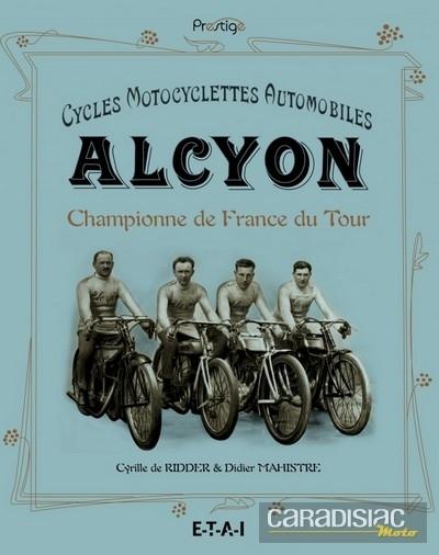 Idée cadeau: livre Cycles Motocyclettes Automobiles Alcyon.