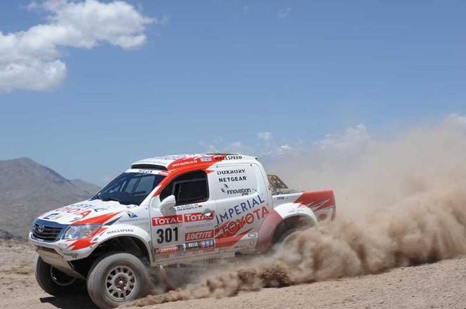 Dakar 2012 - étape 3 : Roma le plus rapide, Holowczyk déloge Peterhansel