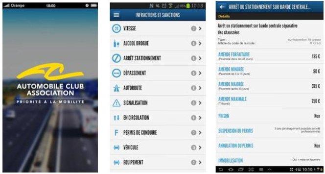 L'Automobile Club Association lance une application gratuite