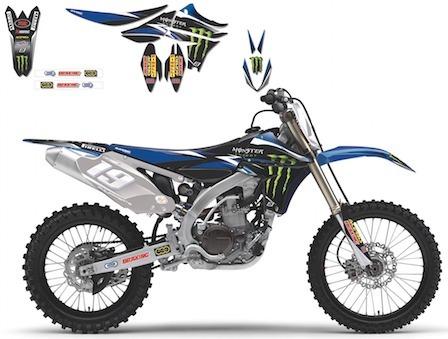 Blackbird: Kit déco Yamaha Monster Energy 2014