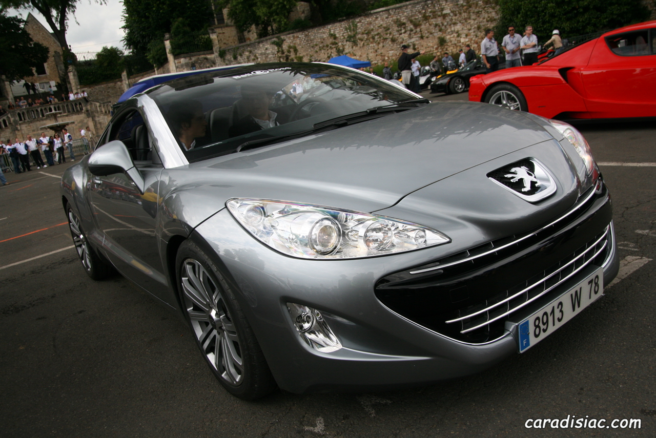photos du jour peugeot 308 rcz. Black Bedroom Furniture Sets. Home Design Ideas