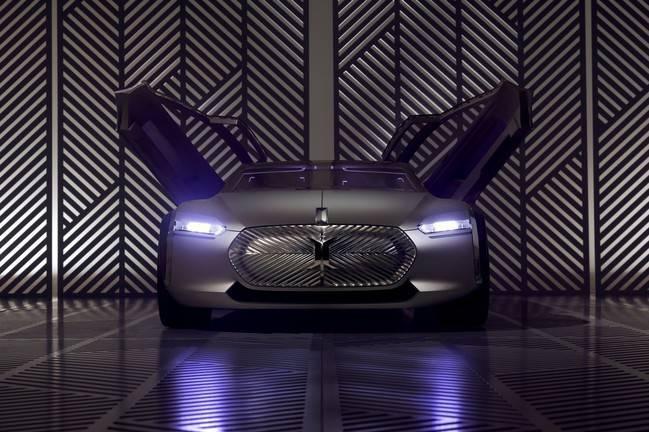 Renault dévoile l'inédit concept Corbusier Coupe