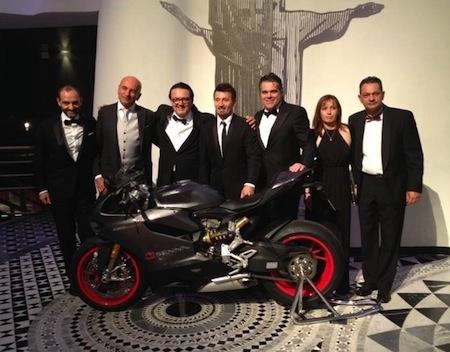 Biaggi empoche aux enchères l'unique Ducati 1199 Panigale S série spéciale Senna
