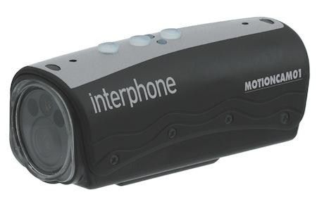 Caméra embarquée Interphone Motioncam 01: ça tourne...