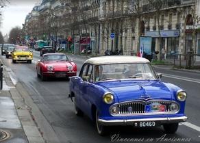 L'agenda auto de janvier2018: Monte-Carlo, Top Gear, Traversée de Paris…