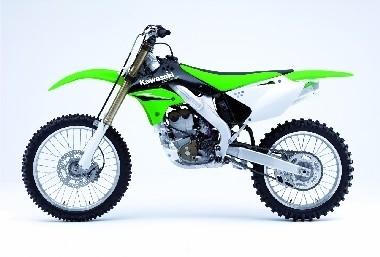 La KXF est la moto du team de Christophe POURCEL