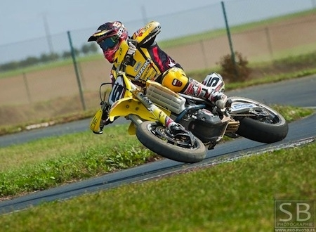 Championnat de France, Supermotard 2011,Fontenay-le-Comte: interview de Boris Chambon