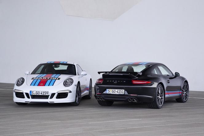 Porsche fête son retour au Mans avec la 911 S Martini Edition