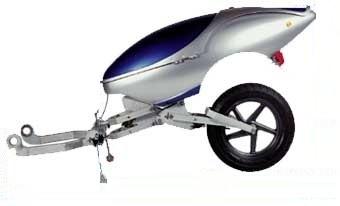 Les remorques moto mono roue