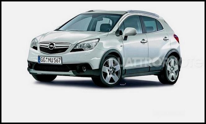 Détroit 2012 : le Buick Encore/Opel Mokka se dévoile