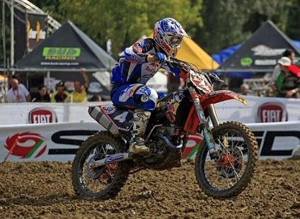 Tyla Rattray, champion du monde MX 2