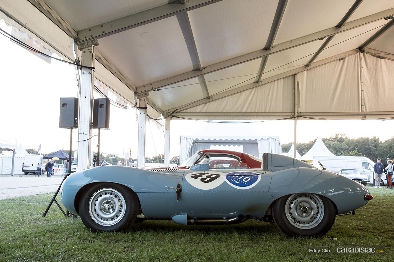 photos du jour jaguar type d les grandes heures de l 39 automobile. Black Bedroom Furniture Sets. Home Design Ideas