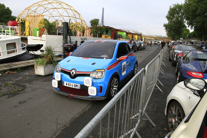 Renault amène Twin Run sur le Gumball. Pour narguer Abarth ?