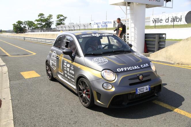 Renault amène Twin Run sur le Gumball. Pour narguer Abarth ?