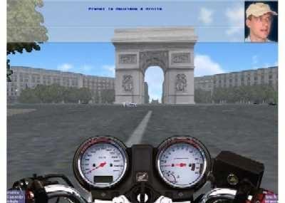 Moto-école 3D