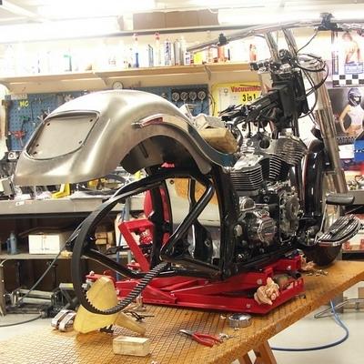 """Une Harley """"bio"""" de 139 cv"""
