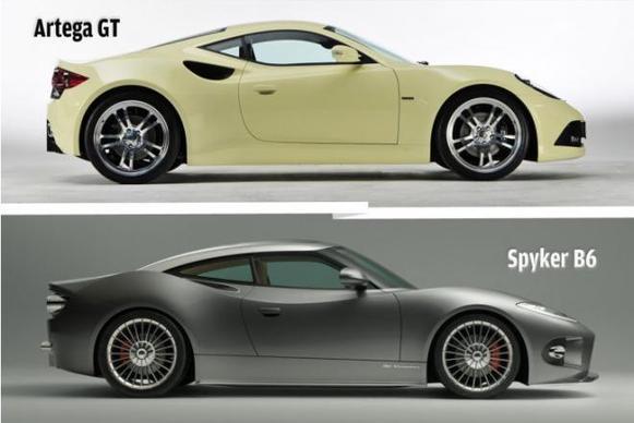 (Minuit chicanes) Et si la Sypker C6 était basée sur l'ex-Artega GT?