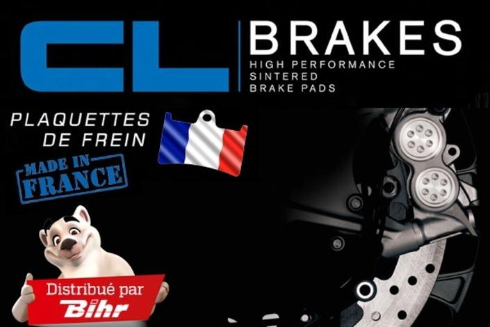 Les plaquettes CL Brakes désormais distribuées par Bihr