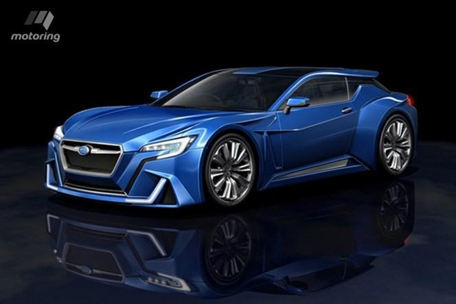 Subaru planche sur une descendante de la SVX dotée d'un Boxer 6 hybride