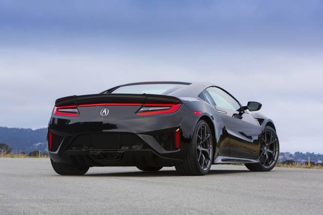 Honda NSX : les données techniques définitives