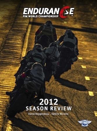 Livre: toute l'Endurance mondiale 2012 en édition limitée