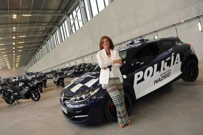 La policia espagnole roule en Renault Mégane RS