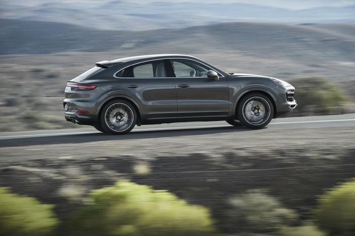 Porsche: voici le Cayenne Coupé