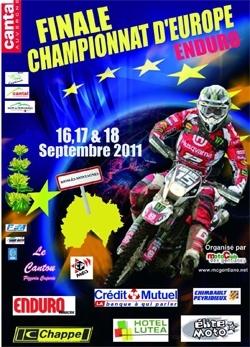 Finale du championnat d'Europe d'enduro à Riom es Montagnes