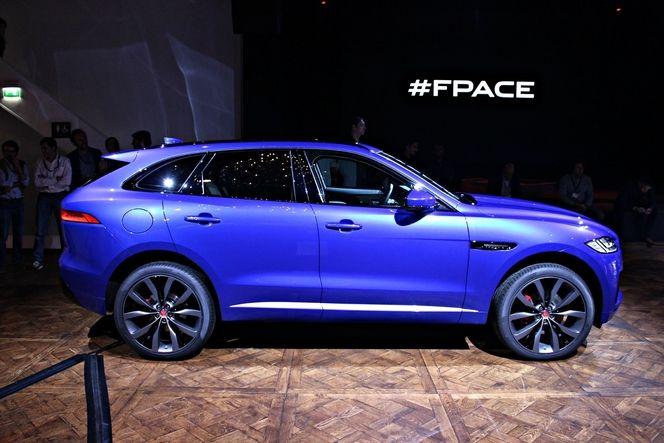 Jaguar : rien de plus gros que le SUV F-Pace n'est à venir