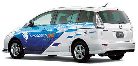 Mazda lance la location de son Premacy Hydrogen RE Hybrid