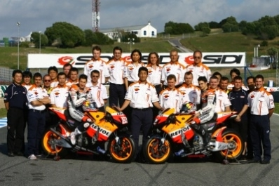Moto GP - Honda: La haie d'honneur pour Nicky Hayden