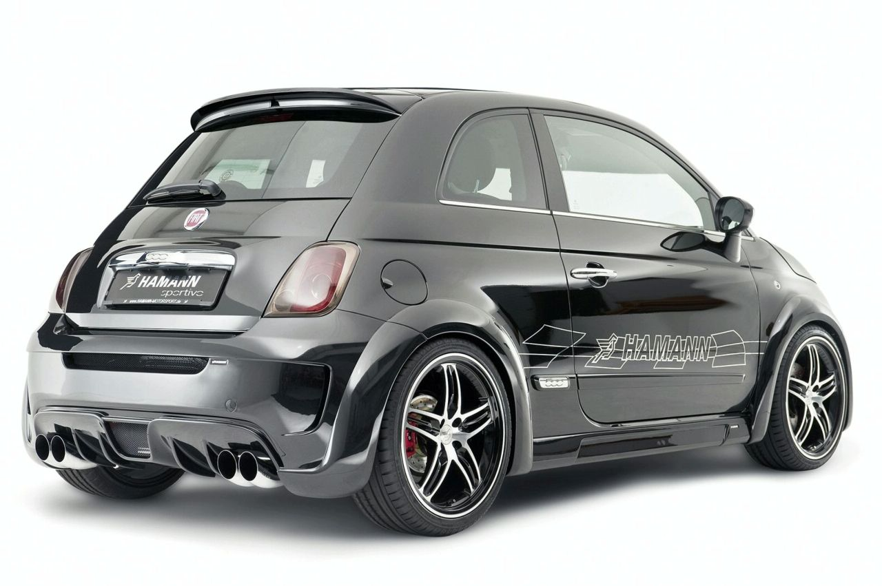 fiat 500 abarth largo par hamann 265 chevaux