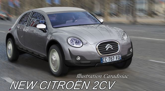 citroen 2cv nouvelle version