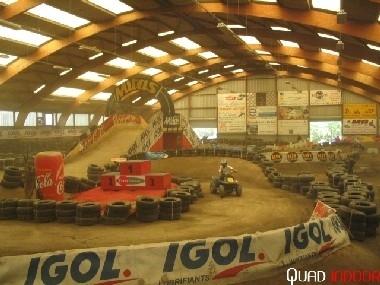 Le quad indoor : unique en Europe