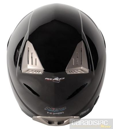 """Nitro propose aussi un casque """"gonflable"""": le N-PSI Pump."""