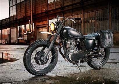 Nouveauté - Yamaha: la Yard Built SR400 'GibbonSlap' est disponible