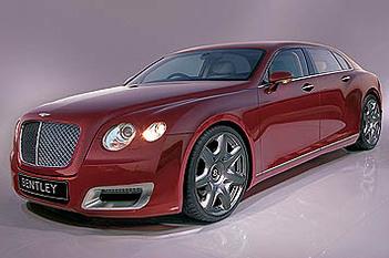 Future Bentley Arnage : avec un châssis Audi