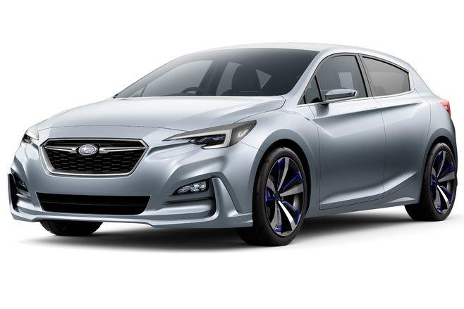 Salon de Tokyo 2015 - Subaru présentera deux concepts à Tokyo, dont la prochaine Impreza
