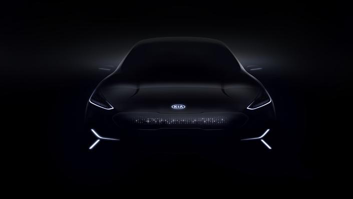 Un nouveau concept électrique présenté au CES — Kia