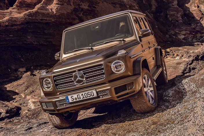 Surprise : le nouveau Mercedes Classe G en fuite