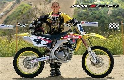 Nouveautés Cross 2007 : Suzuki