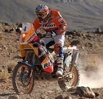 Rallye du Maroc 2009 : étape 6, Despres pénalisé pour un nuage de poussière
